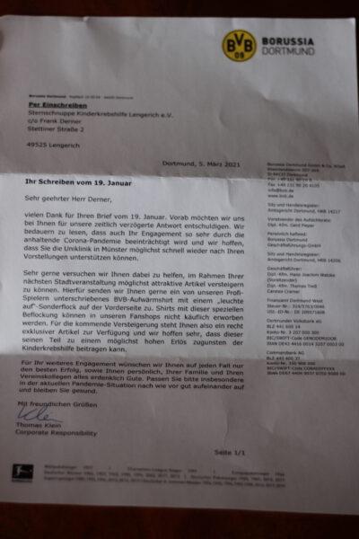 Brief BVB